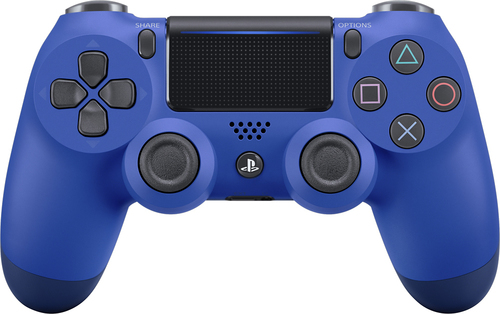 Sony - DualShock® 4 Wireless Controller for Sony PlayStation® 4 - Wave Blue