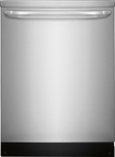 "Frigidaire - 24"" Tall Tub Built-In Dishwasher - Stainless-Steel"
