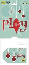 Best Buy GC - $15 Holiday Let It Play Gift Card