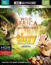 Wild Africa/tiny Giants [4k Ultra Hd Blu-ray/blu-ray] 5678300