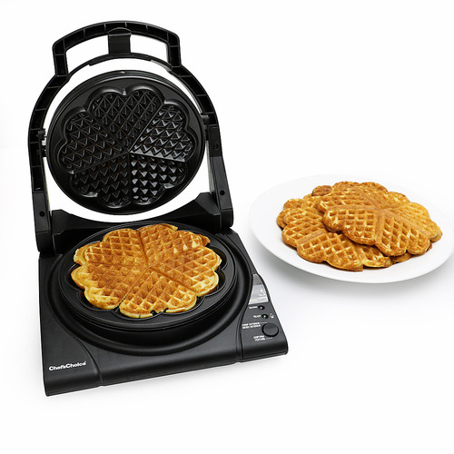 Chef'sChoice - WafflePro Waffle Maker - Silver