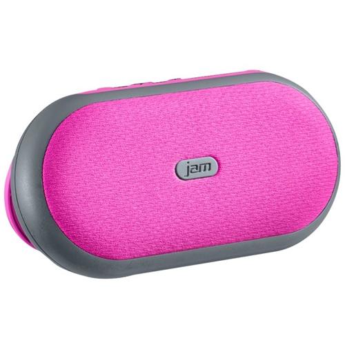 Hmdx - Jam Tag-a-long Portable Bluetooth Speaker - Pink