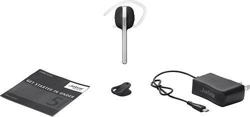 Jabra - Style Bluetooth Headset - Black