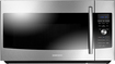 Samsung - 1.7 Cu. Ft. Over-the-Range Microwave - Stainless Steel