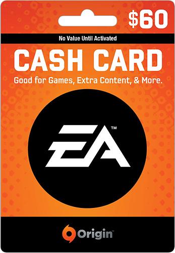 EA - EA Origin Wallet Card ($60) - Multicolor