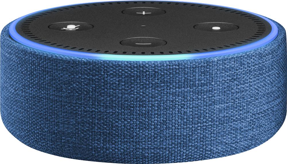 Amazon - Case For Amazon Echo Dot - Indigo