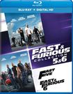 Fast And Furious Collection: 5 And 6 [includes Digital Copy] [ultraviolet] [blu-ray] [2 Discs] 5707410