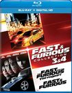 Fast And Furious Collection: 3 And 4 [includes Digital Copy] [ultraviolet] [blu-ray] [2 Discs] 5707411