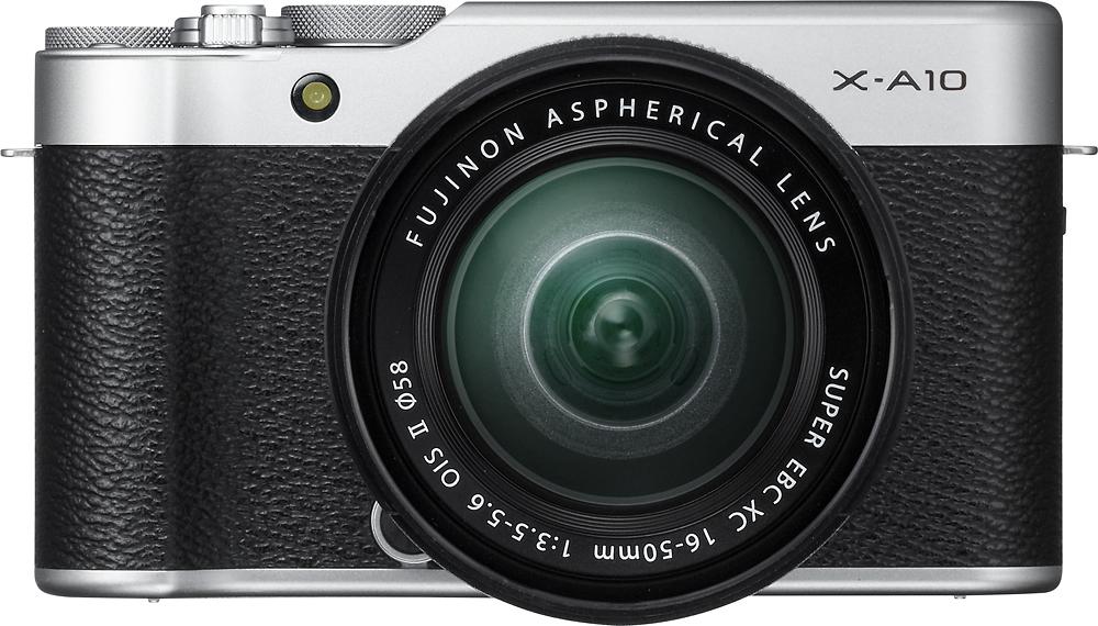 Fujifilm - X-a10 Mirrorless Camera With Xc 16-50mm Ois Ii Le
