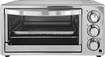 Oster - 6-Slice Toaster Oven - Black and Brushed Stainless Steel