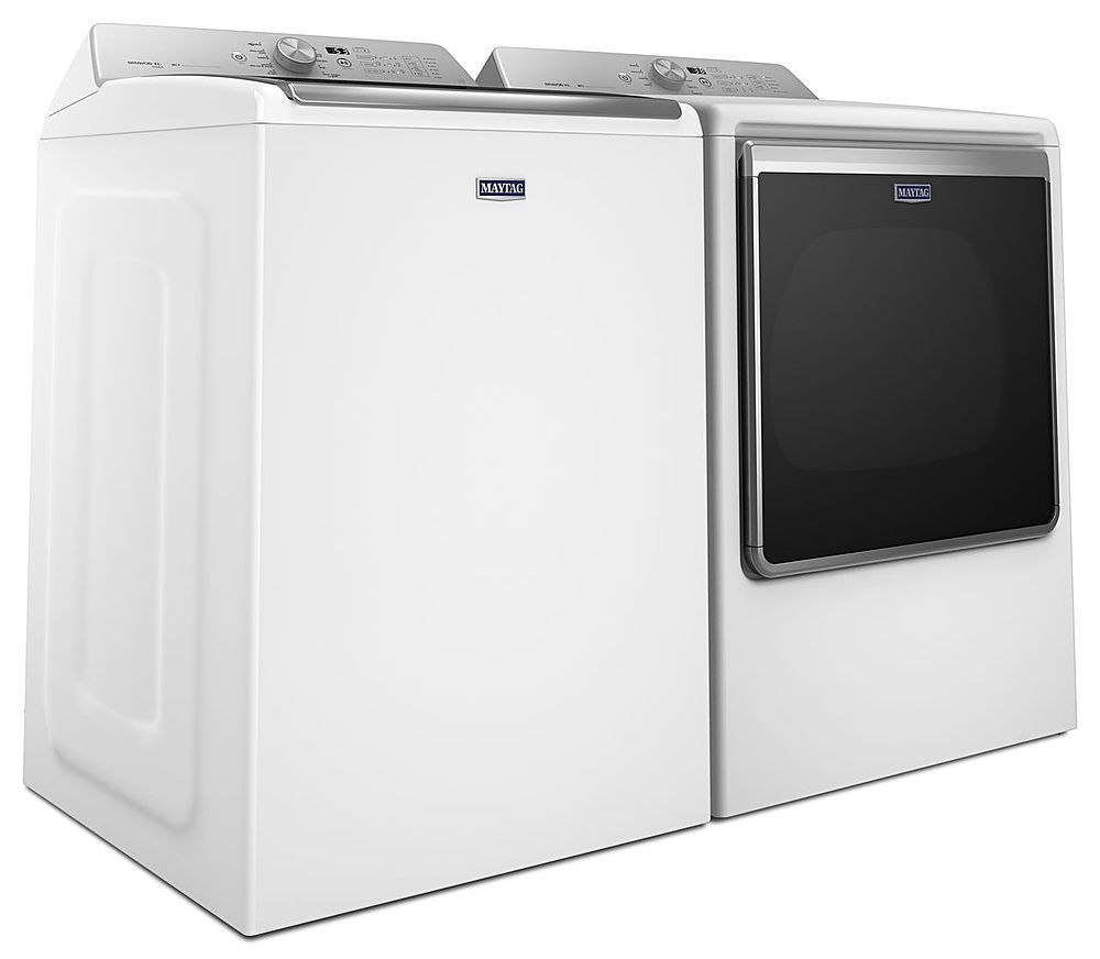 Maytag - 5.3 Cu. Ft. 11-Cycle Top-Loading Washer - White at Pacific ...
