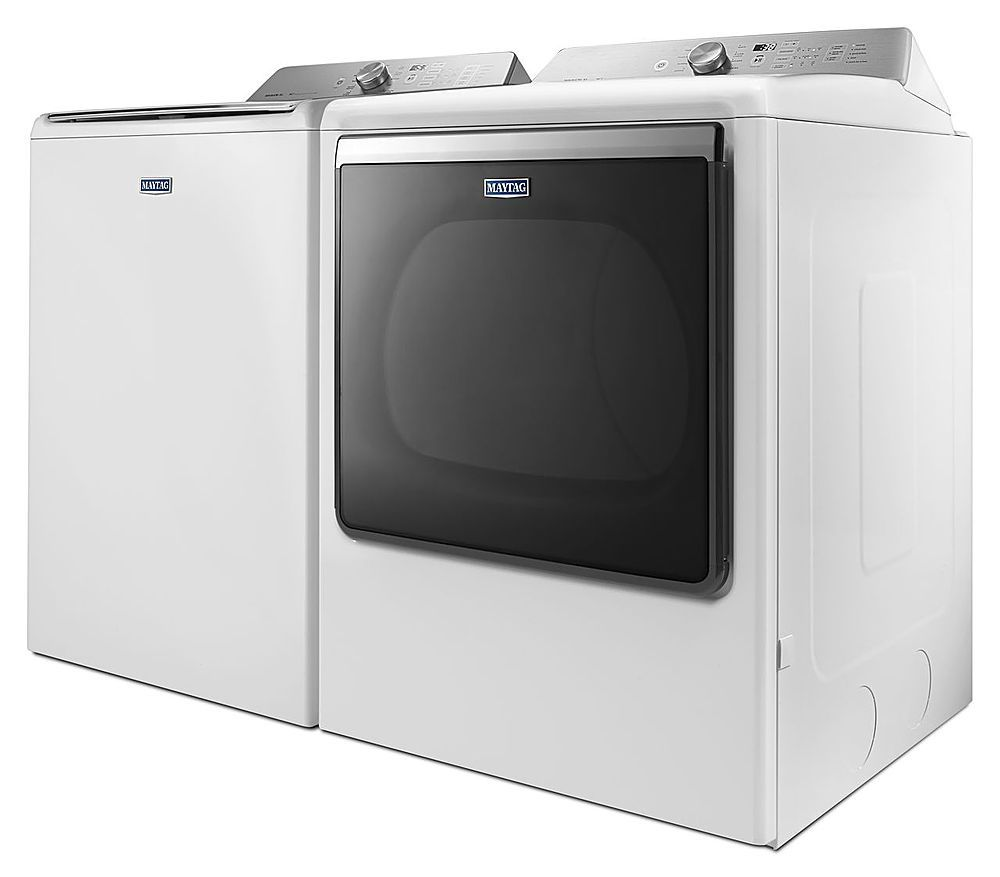 Maytag - 8.8 Cu. Ft. 10-Cycle Gas Dryer - White at Pacific Sales