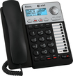 AT&T - AT ML17929 Corded Phone with Caller ID/Call Waiting - Black/Gray
