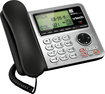 VTech - VT CS6649 DECT 6.0 Expandable Phone System with Digital Answering System - Black/Silver