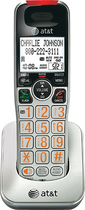 AT&T - DECT 6.0 Cordless Expansion Handset for Select AT&T Expandable Phone Systems - Silver