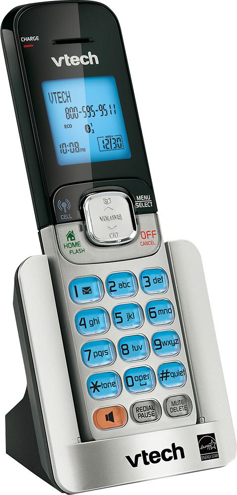VTech - VT DS6501 DECT 6.0 Cordless Expansion Handset - Silver