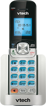 VTech - DECT 6.0 Cordless Expansion Handset for Select Vtech Expandable Phone Systems - Silver