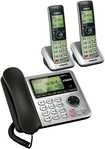 VTech - VT CS6649-2 Dect 6.0 Expandable Phone System with Digital Answering System - Silver/Black