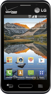 Verizon Wireless Prepaid - LG Optimus Zone 2 No-Contract Cell Phone - Black