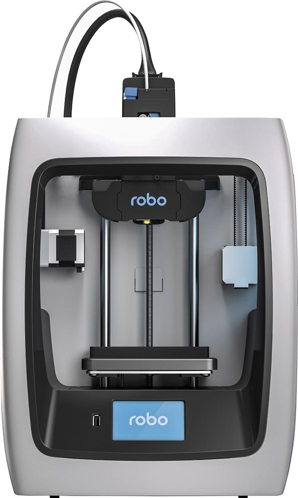 Robo 3d - C2 Wireless 3d Printer - Black/white