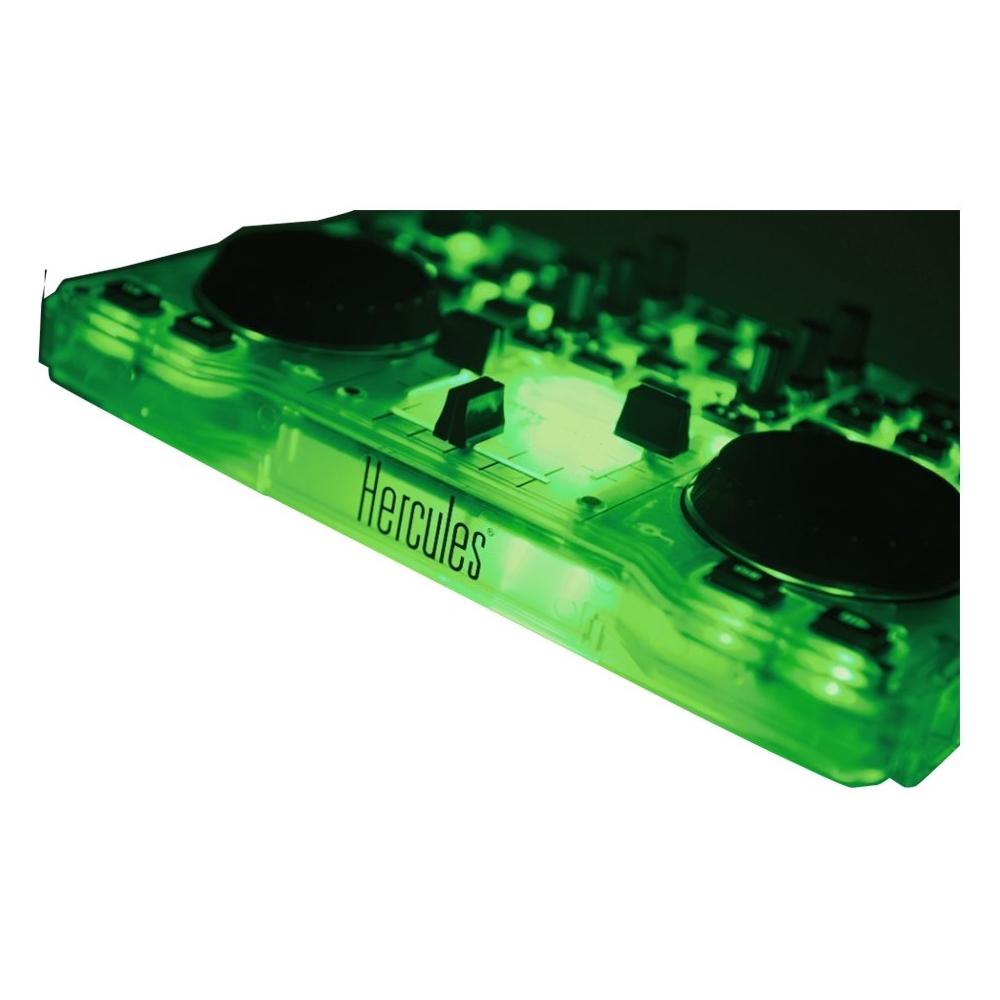Hercules - Dj Mixer - Green 5712479