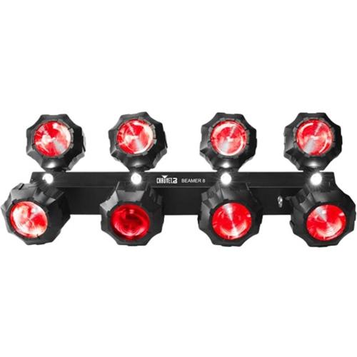 Chauvet Dj - Beamer 8 Lighting Effect/strobe Light Combo - Black 5712760