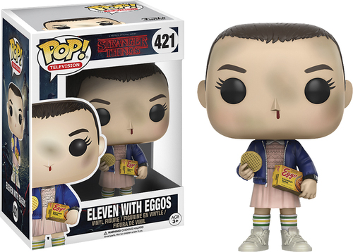 Funko - POP! TV Stranger Things: Eleven With Eggos - Multi