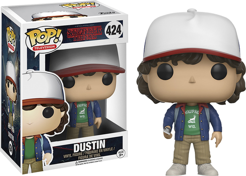 Funko - POP! TV Stranger Things: Dustin - Multi