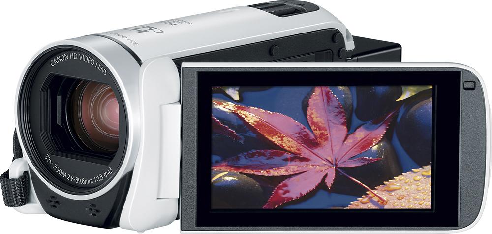 Canon - Vixia Hf R800 Hd Flash Memory Camcorder - White