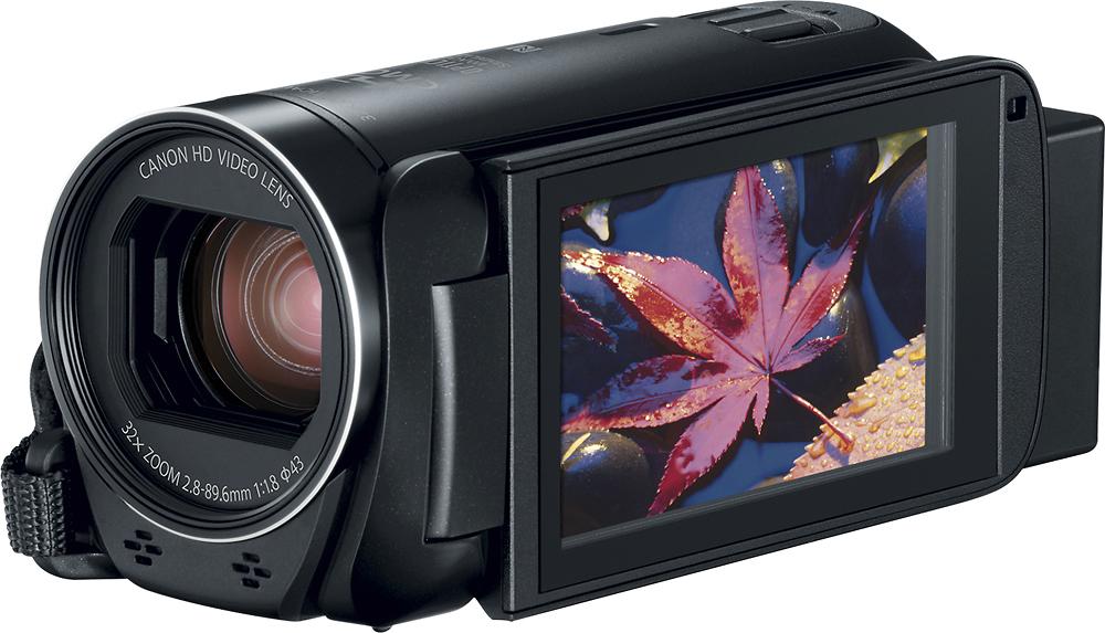 Canon - Vixia Hf R80 16gb Hd Flash Memory Camcorder - Black