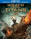 Wrath Of The Titans 3d [2 Discs] [includes Digital Copy] [ultraviolet] [3d/2d] [blu-ray/dvd] 5716636