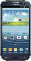 Samsung - Galaxy S III 4G with 16GB Memory Mobile Phone - Pebble Blue
