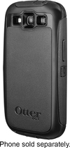 OtterBox - Defender Series Case for Samsung Galaxy S III Cell Phones - Black