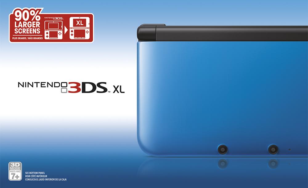 Nintendo - 3DS XL - Blue