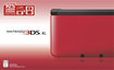 Nintendo - 3DS XL - Red
