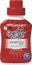 SodaStream - Crystal Light Energy Wild Strawberry Sparkling Drink Mix