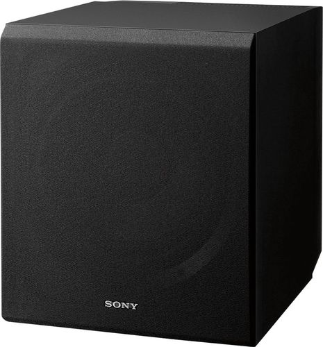 """Sony - Core Series 10"""" 115W Active Subwoofer - Black"""