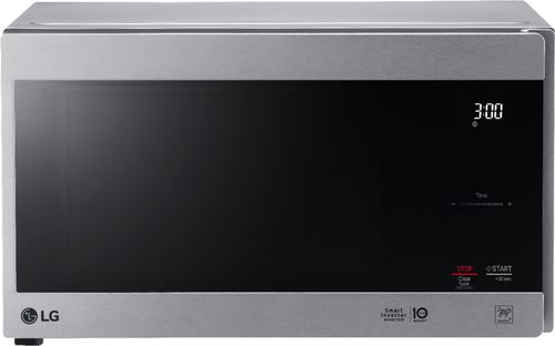 Ft Compact Microwave Stainless Steel Larger Front