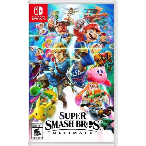 Super Smash Bros Ultimate Nintendo Switch Best Buy