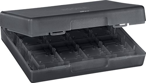 Insignia™   Switch Game Storage Case   Black   Larger Front