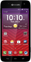Virgin Mobile - Kyocera Hydro Vibe 4G No-Contract Cell Phone - Black