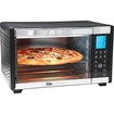 Elite - Convection Toaster/pizza Oven - Black/silver 5728810