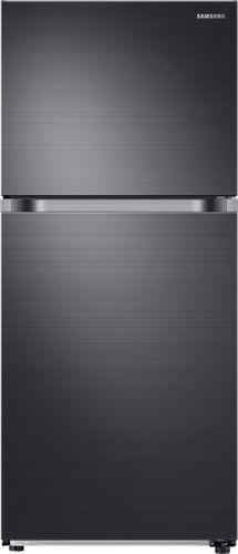 refrigerator black. ft. top-freezer refrigerator - black stainless steel l