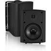 OSD Audio - 120 W Outdoor Speaker - Pack of 1 - Black, White