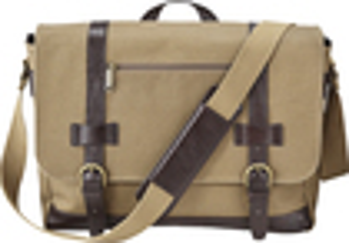 Platinum - Laptop Messenger Bag - Brown