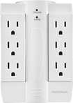 Insignia™ - 6-Outlet Surge Protector