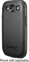 OtterBox - Commuter Series Case for Samsung Galaxy S III Cell Phones - Black