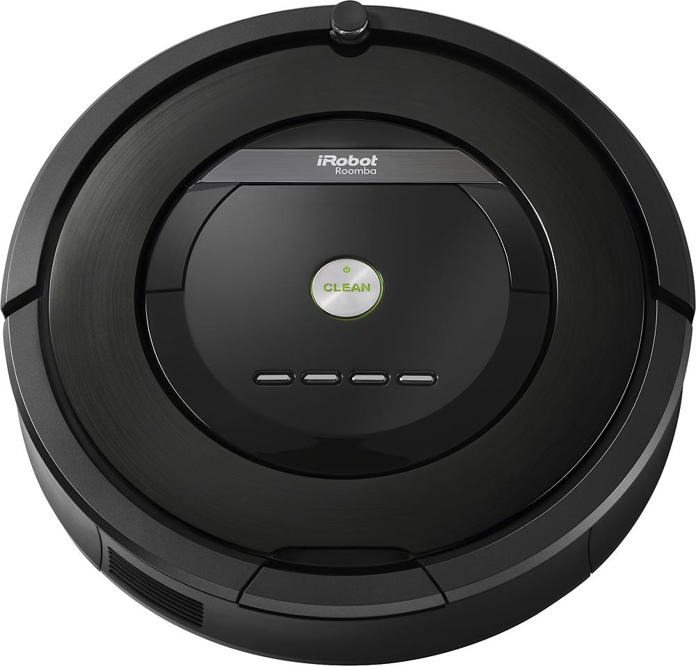 iRobot - Roomba 880 Vacuum Cleaning Robot - Black