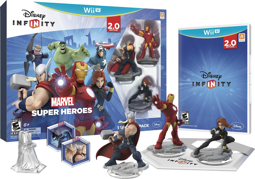 Disney INFINITY: Marvel Super Heroes (2.0 Edition) Starter Pack - Nintendo Wii U