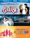 Grease/saturday Night Fever/hairspray [3 Discs] [blu-ray] 5747028